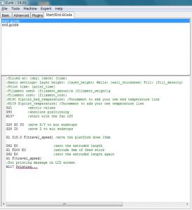 start.gcode