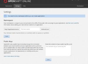 openshift設定