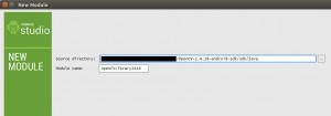 OpenCV SDKのインポート