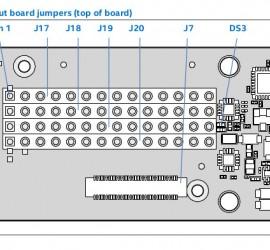 Breakout board jumpers(top)
