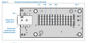 Breakout board jumpers(bottom)