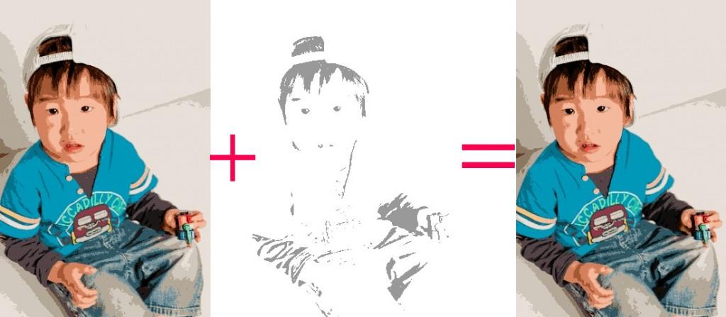 アルファブレンド画像