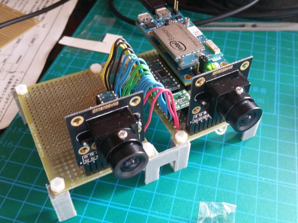 Intel Edisonでステレオカメラを作る | Workpiles