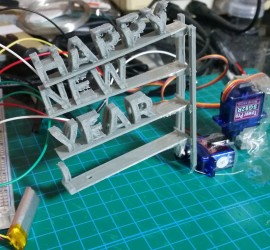 HAPPY NEW YEAR Servo