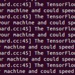 TensorFlow1.0(CPU版)でXLAを有効化したら30%程スピードアップした